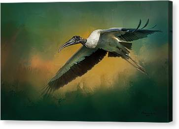 Spring Flight Canvas Print by Marvin Spates