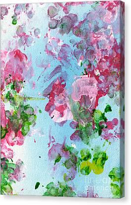Spring Flowers Canvas Print by Antony Galbraith