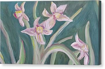 Canvas Print - Spring Flowers by Cherie Sexsmith