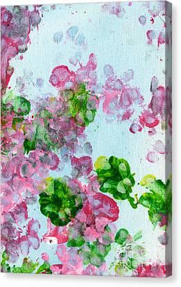 Spring Flowers II Canvas Print by Antony Galbraith
