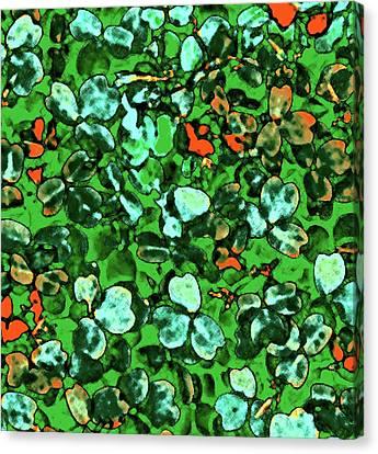 Spring Foiliage Canvas Print