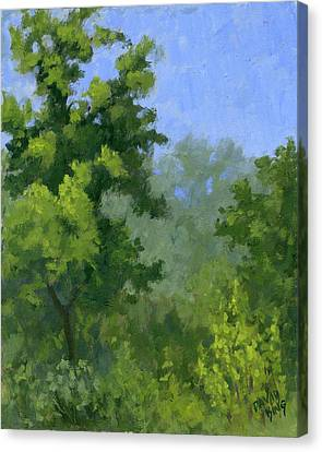 Spring Foliage Canvas Print