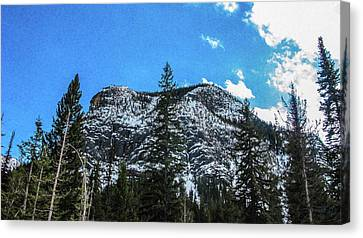Spring Forward Methow Valley Motivational Artwork By Omashte Canvas Print by Omaste Witkowski
