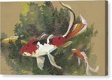Spring Goldfish II Canvas Print