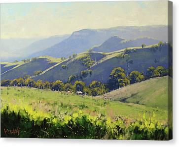 Spring Grasses Canvas Print by Graham Gercken