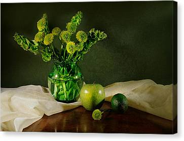 Spring Green Canvas Print by Diana Angstadt