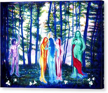 Spring Grove Canvas Print by Tom Hefko
