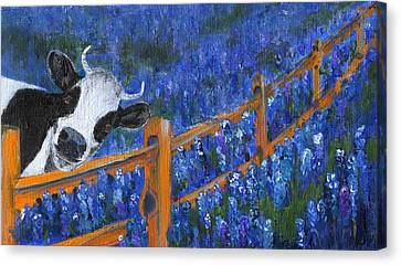 Canvas Print featuring the painting Spring Has Sprung by Jamie Frier