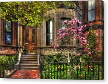 Spring In Boston - Back Bay Canvas Print
