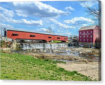 Spring In Bridgeton  Canvas Print by Brent Tindall