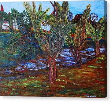 Spring In Cranbury Canvas Print by Vadim Levin