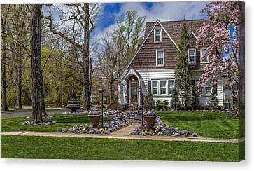 Medieval Entrance Canvas Print - Spring In Hammonton by Capt Gerry Hare