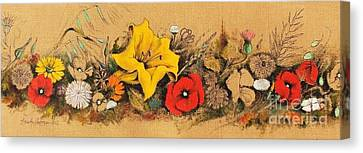 Spring In South Italy Canvas Print by Alessandra Andrisani