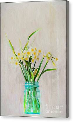 Canvas Print featuring the photograph Spring In The Country by Benanne Stiens
