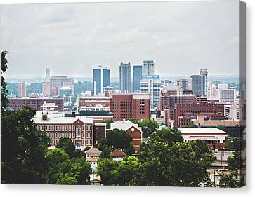 Canvas Print featuring the photograph Spring In The Magic City - Birmingham by Shelby Young