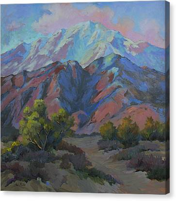 Spring In The Mountains Canvas Print by Diane McClary