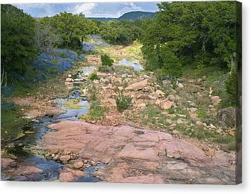 Spring In The Texas Hill Country Canvas Print by Paul Huchton