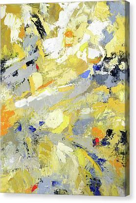 Spring Into Summer Canvas Print by Sally  Rosenbaum