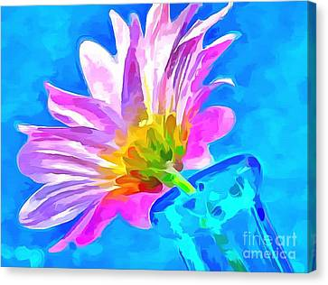 Spring Is Here Canvas Print by Krissy Katsimbras
