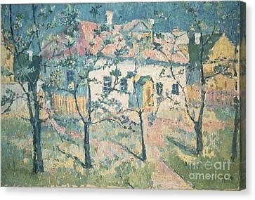 Spring Canvas Print by Kazimir Severinovich Malevich