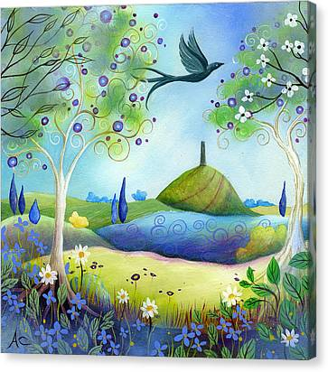 Spring Light Canvas Print by Amanda Clark