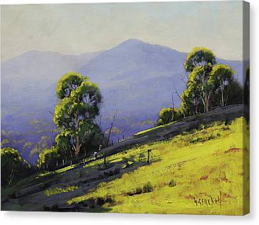 Spring Light Canvas Print by Graham Gercken