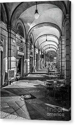 Spring Light In Porticos Canvas Print by Italy Art and Soul