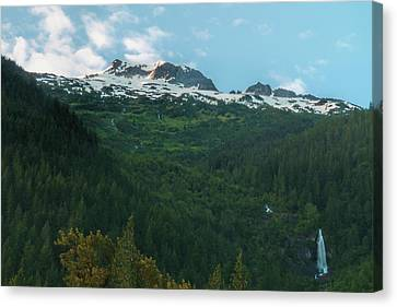 Spring Light On North Cascades National Park Canvas Print by Dan Sproul