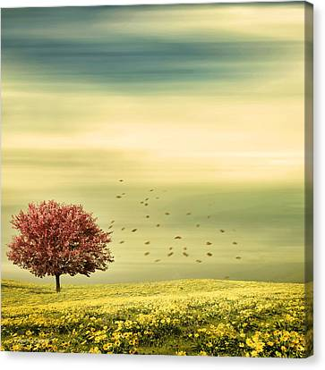 Spring Canvas Print by Lourry Legarde