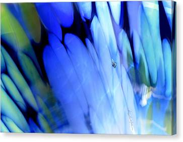 Abstract Digital Canvas Print - Spring Love by Hanne Lore Koehler