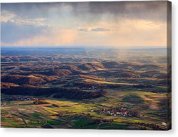 Spring Magic Canvas Print by Davorin Mance