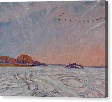 Spring Migration Canvas Print