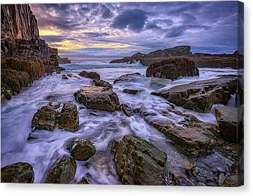 Spring Morn At Bald Head Cliff Canvas Print by Rick Berk
