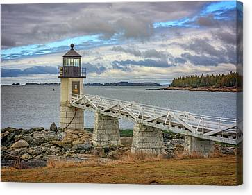 Canvas Print featuring the photograph Spring Morning At Marshall Point by Rick Berk