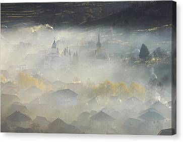 Romania Canvas Print - Spring by Ovidiu Satmari