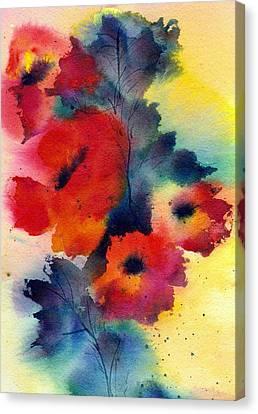 Spring Quartet Canvas Print
