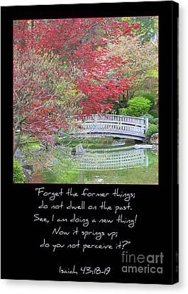Spring Revival Canvas Print by Carol Groenen