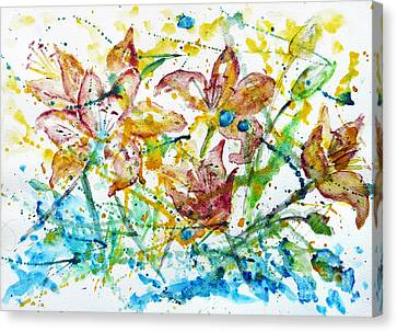 Spring Rhapsody Canvas Print by Jasna Dragun