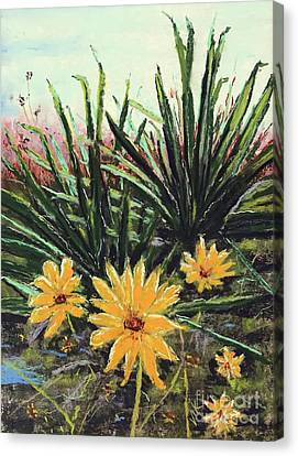 Spring Rising Canvas Print by Vickie Scarlett-Fisher