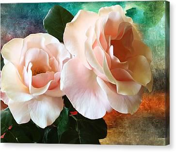 Spring Roses Canvas Print by Gabriella Weninger - David