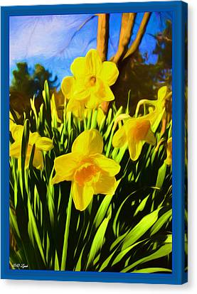 Spring Series Painting Canvas Print