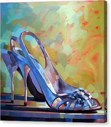 Spring Shoes Canvas Print
