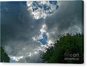 Canvas Print - Spring Shower Clouds by Natural Focal Point Photography