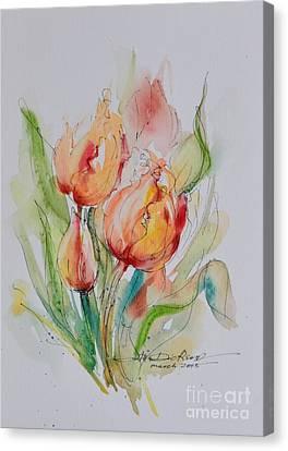 Spring Smiles Canvas Print