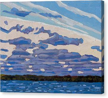 Spring Stratocumulus Canvas Print by Phil Chadwick