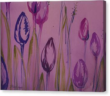 Batik Canvas Print - Spring Sunrise by Natalya Zaytseva