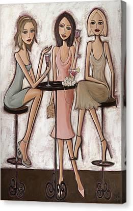 Spring Things Canvas Print by Denise Daffara