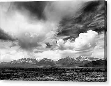 Spring Thunderstorm Eastern Sierra Nevada Mountains Canvas Print