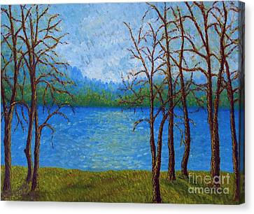 Spring Time In Arkansas Canvas Print by Vivian Cook