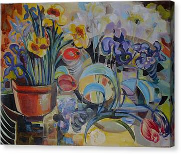 Spring Time Canvas Print by Therese AbouNader